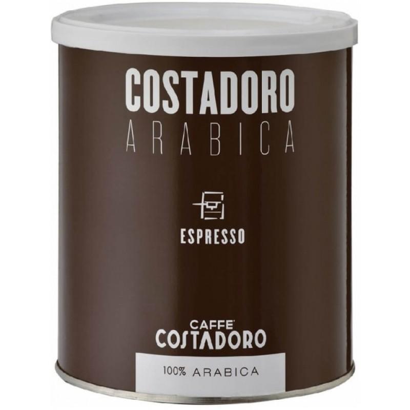 Кофе молотый Costadoro Arabica Espresso 250 гр (Арабика 100%, Италия)