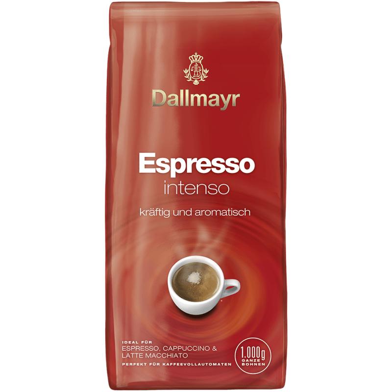 Кофе в зернах Dallmayr Espresso Intenso 1 кг (Арабика 55%, Германия)
