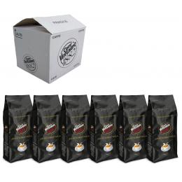 Vergnano Antica Bottega коробка 6 шт., 6 кг (Арабика 90%)