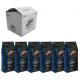 Vergnano Espresso Crema 800 коробка 6 шт., 6 кг (Арабика 80%)