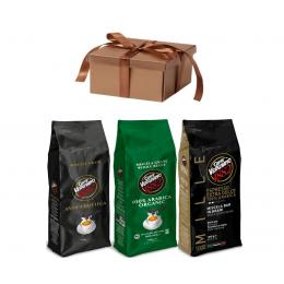 Vergnano 99% Арабика 3-х разных сортов, 3 кг