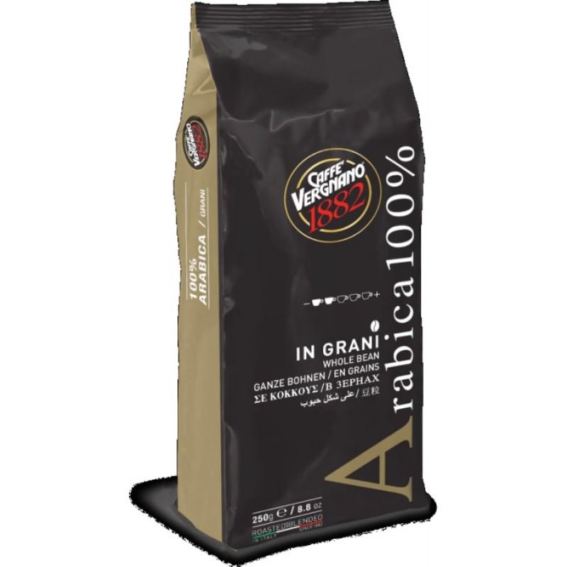 Кофе в зернах Vergnano Arabica 250 гр (Арабика 100%, Италия)