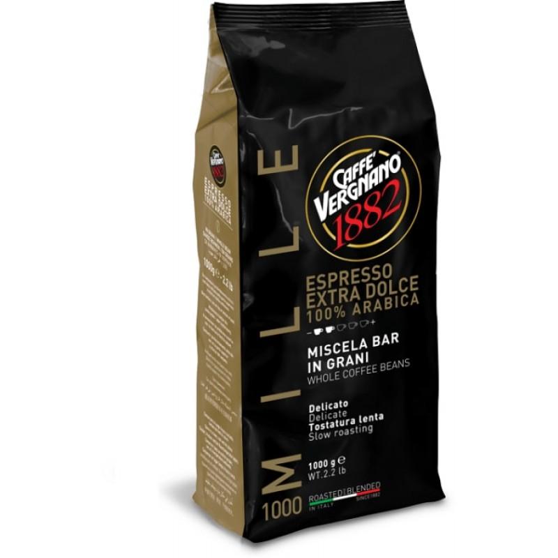 Кофе в зернах Vergnano Espresso Extra Dolce 1000 1 кг (Арабика 100%, Италия)